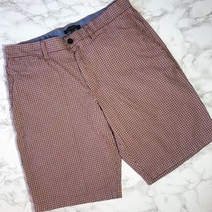 Banana Republic sz. 34 plaid men's Bermuda shorts